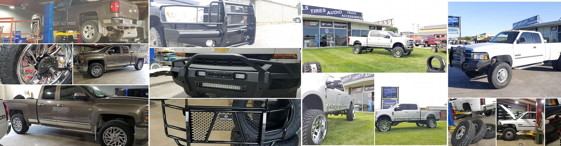 Custom Customer Vehicles – Wheels, Tires, and Accessories